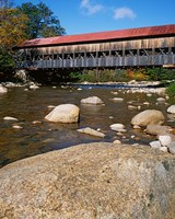 Albany Covered Bridge, Swift River, White Mountain National Forest, New Hampshire Fine Art Print