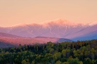 Mt Washington White Mountains New Hampshire Fine Art Print