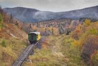 New Hampshire, White Mountains, Mount Washington Cog Railway Fine Art Print