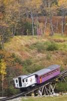 New Hampshire, Bretton Woods, Mount Washington Cog Railway Fine Art Print