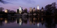 Atlanta at Dusk Fine Art Print