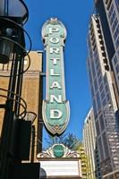 Portland Landmark Sign, Portland, Oregon Fine Art Print