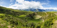 Circular Inca Terraces of Moray, Machupicchu, Peru Fine Art Print