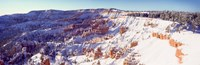 Bryce Canyon with Snow, Utah Fine Art Print