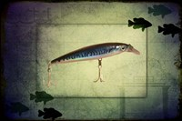 Fishing - Deep Blue Fine Art Print