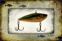 Fishing - Bait Lure Fine Art Print