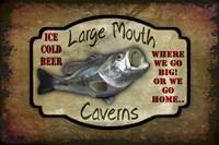 Large Mouth Cavern II Fine Art Print