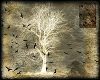 A Raven's World Spirit Tree Fine Art Print