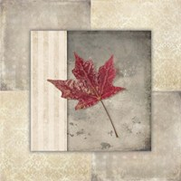 Lodge Leaf Tile 1 Fine Art Print