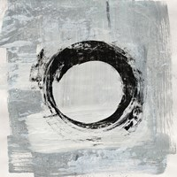Zen Circle I Crop Fine Art Print