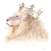 Jungle Royalty I Crop Fine Art Print