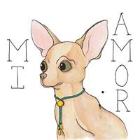 Puppy Love Chihuahua Color Fine Art Print