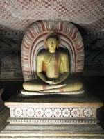 Buddha Statue, Dambulla Cave Temple, Sri Lanka Fine Art Print