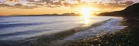 Windan Sea Beach at Sunrise, La Jolla, San Diego County, California Fine Art Print