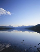 Lake McDonald and the Rocky Mountains, Glacier National Park, Montana Fine Art Print
