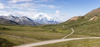Mount McKinley and Thorofare Pass, Denali National Park, Alaska Fine Art Print