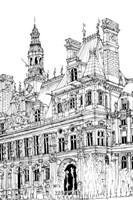 B&W City Scene VIII Fine Art Print
