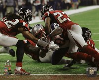 James White game winning touchdown Super Bowl LI Fine Art Print