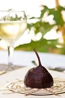 Exotic desserts and meals, Beqa Lagoon Resort, Beqa Island, Fiji Fine Art Print
