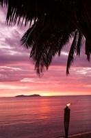 Tropical Sunset, Beqa Island, Fiji Fine Art Print