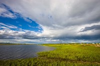 Salt Marsh side of Long Beach in Stratford, Connecticut Fine Art Print