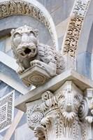 Gargoyle of Duomo Pisa, Pisa, Italy Framed Print