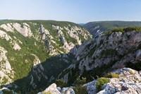 Gorge of Zadiel in the Slovak karst, Slovakia Fine Art Print