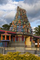 Sri Siva Subramaniya Hindu temple in Fiji Fine Art Print