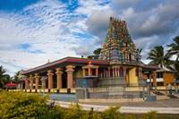 Hindu temple, Nadi, Viti leva, Fiji Fine Art Print