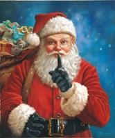 Shh Santa Fine Art Print
