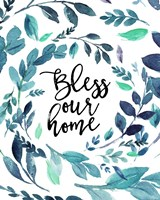 Bless Our Home Fine Art Print