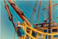 Figurehead Mermaid Pirate Fine Art Print