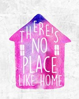 There's No Place Like Home-Watercolor Fine Art Print