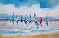 Boats I Fine Art Print