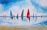 Boats II Fine Art Print