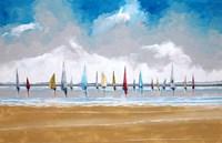 Boats III Fine Art Print