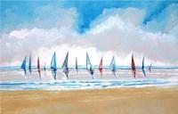 Boats V Fine Art Print
