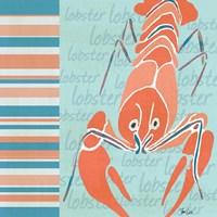 Nautical Lobster Fine Art Print
