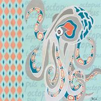 Nautical Octopus Fine Art Print