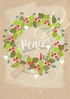 Peace Wreath Fine Art Print