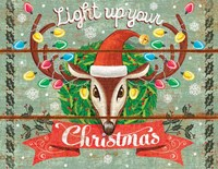 Light Up Your Christmas Fine Art Print