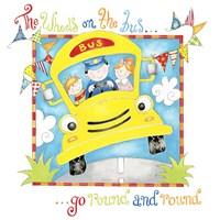 The Wheels on the Bus Fine Art Print