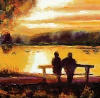 Couple Sunset Fine Art Print