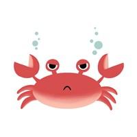 Sea Creatures - Crab Fine Art Print