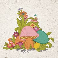 Bold Mushroom Fine Art Print