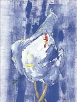 Denim Chicken Fine Art Print