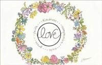 Love Wreath Fine Art Print