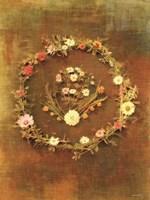 Floral Wreath Fine Art Print