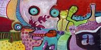 Colourfull Mars Men V Fine Art Print