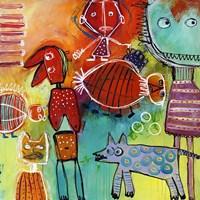 Colourfull Mars Men VI Fine Art Print